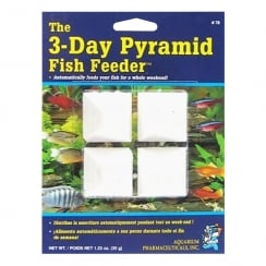 3 Day Pyramid Fish Feeder