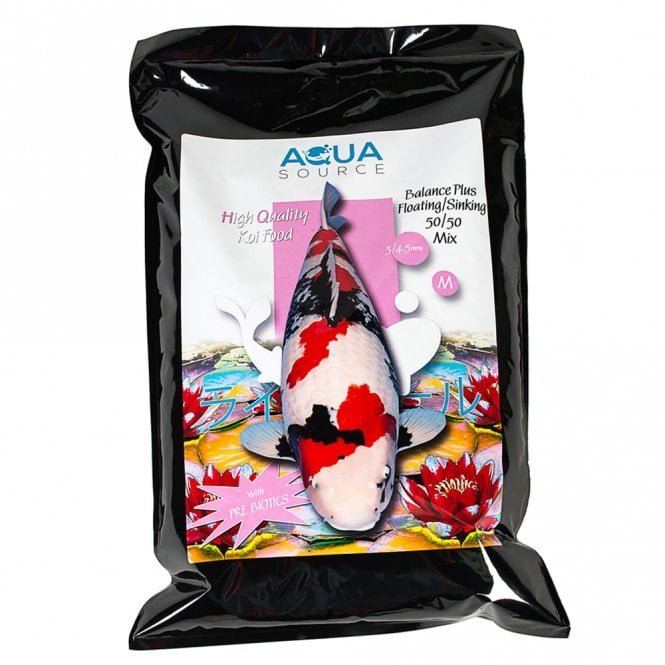 Aqua Source Balance Plus Sinking/Floating 50/50 Mix Koi Food