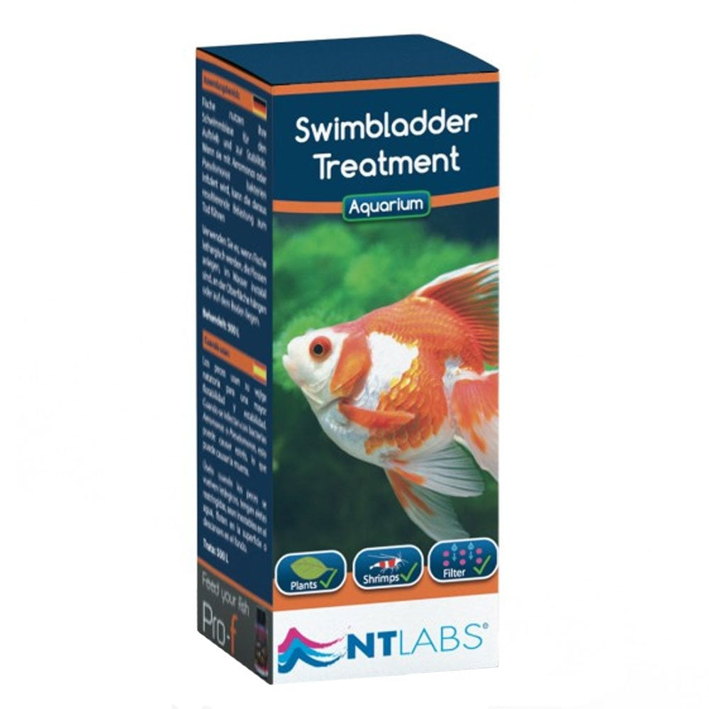 Nt labs aquarium swimbladder treatment 100ml aquarium for Koi pool blackpool