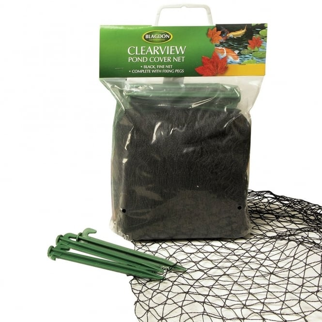 Blagdon clearview pond cover nets blagdon from pond for Decorative fish pond covers