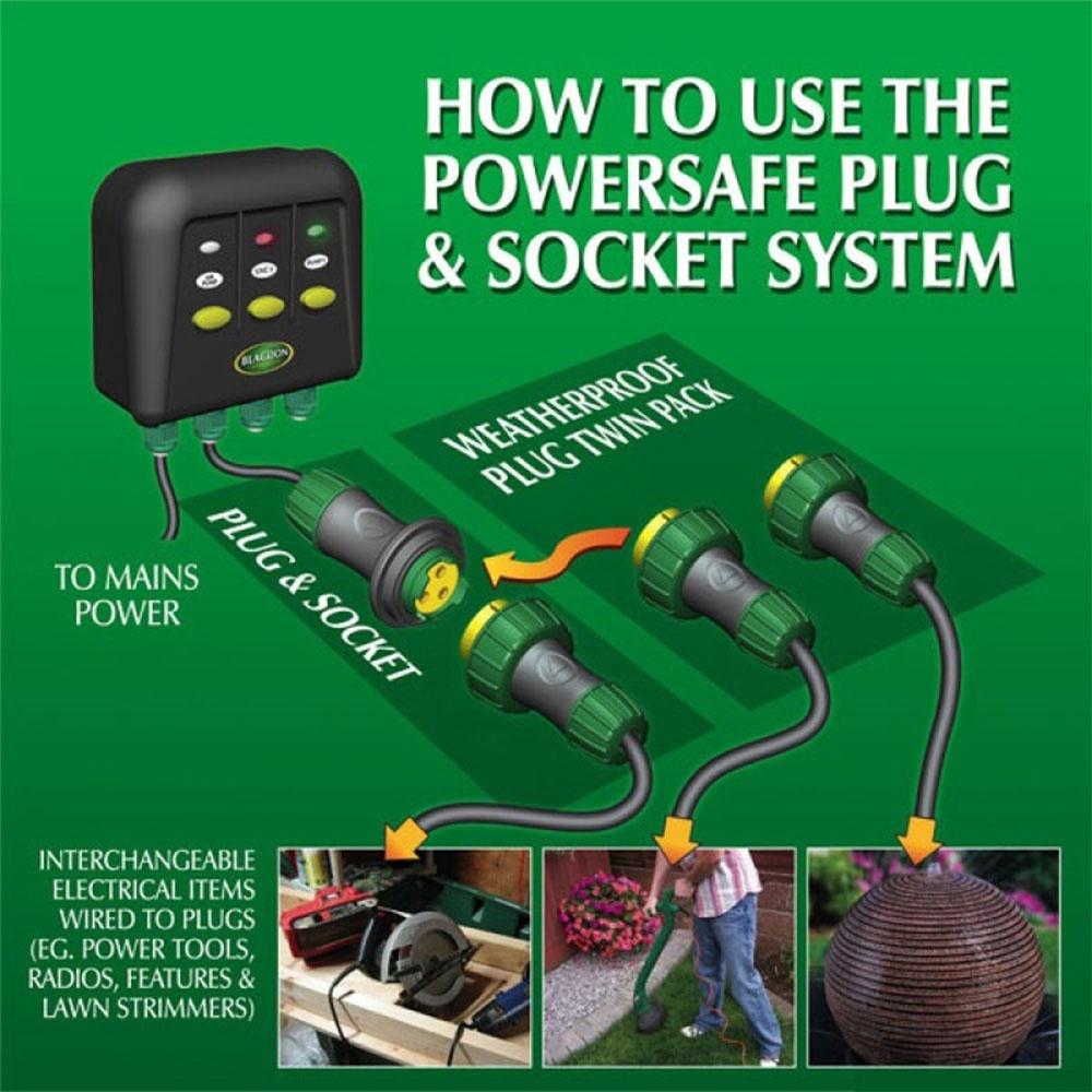 Blagdon Powersafe Plug And Socket Blagdon From Pond Planet Ltd Uk