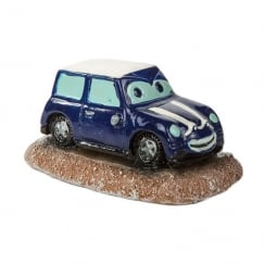 Blue Mini With Eyes