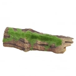Brown Driftwood Replica With Moss