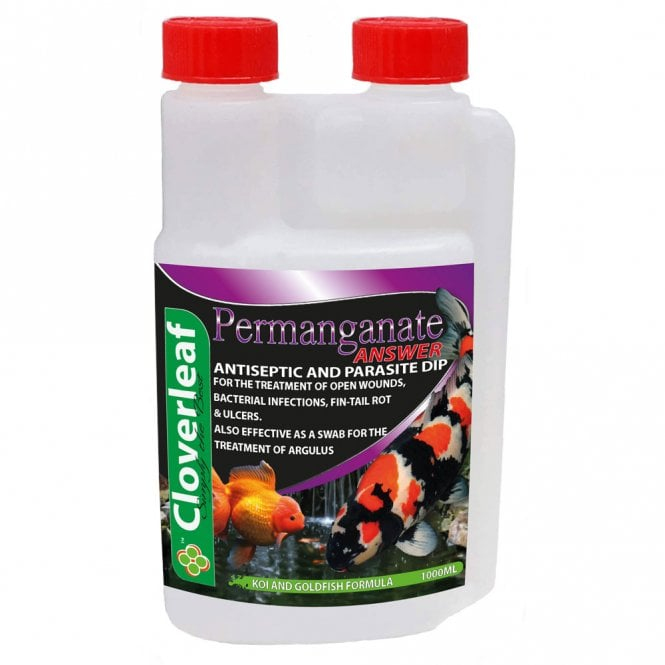 Cloverleaf Permanganate Answer