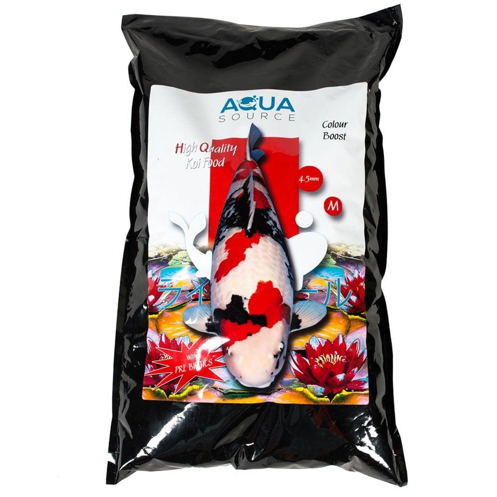 Aqua Source Colour Boost Koi Food - Pond from Pond Planet Ltd UK