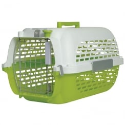 Voyageur Cat/Dog Carrier Green/White - Small