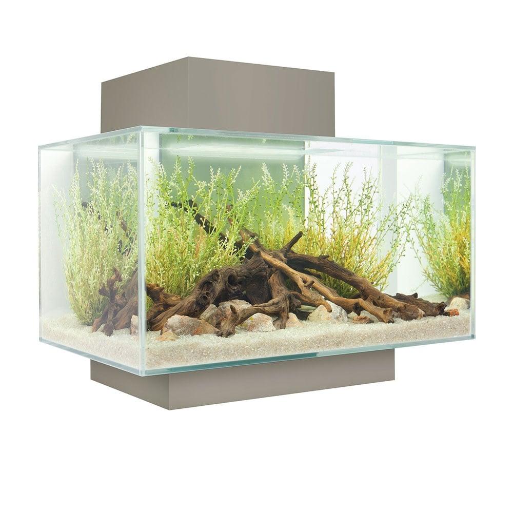 fluval edge 23l aquarium set pewter aquarium from pond planet ltd uk. Black Bedroom Furniture Sets. Home Design Ideas