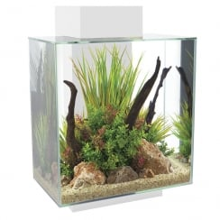 Edge 46L Aquarium Set - White
