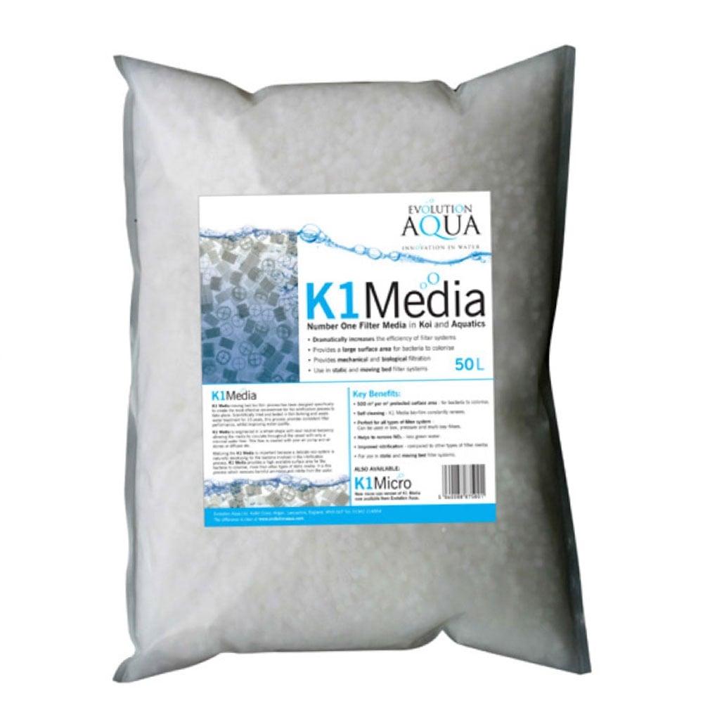 Evolution aqua kaldnes k1 media pond from pond planet ltd uk for Pond filter media ideas