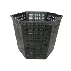 Hexagonal Pond Basket 18cm