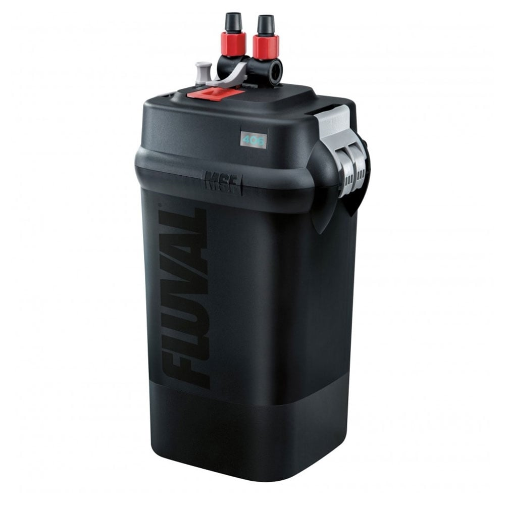 Fluval 406 external aquarium filter fluval from pond for Pond canister filter