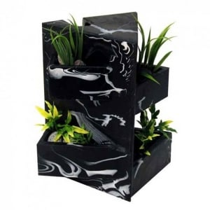 EDGE Black Marble Ornament