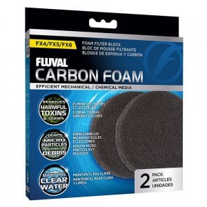 FX5/FX6 Carbon Impregnated Foam Pads (2pcs)