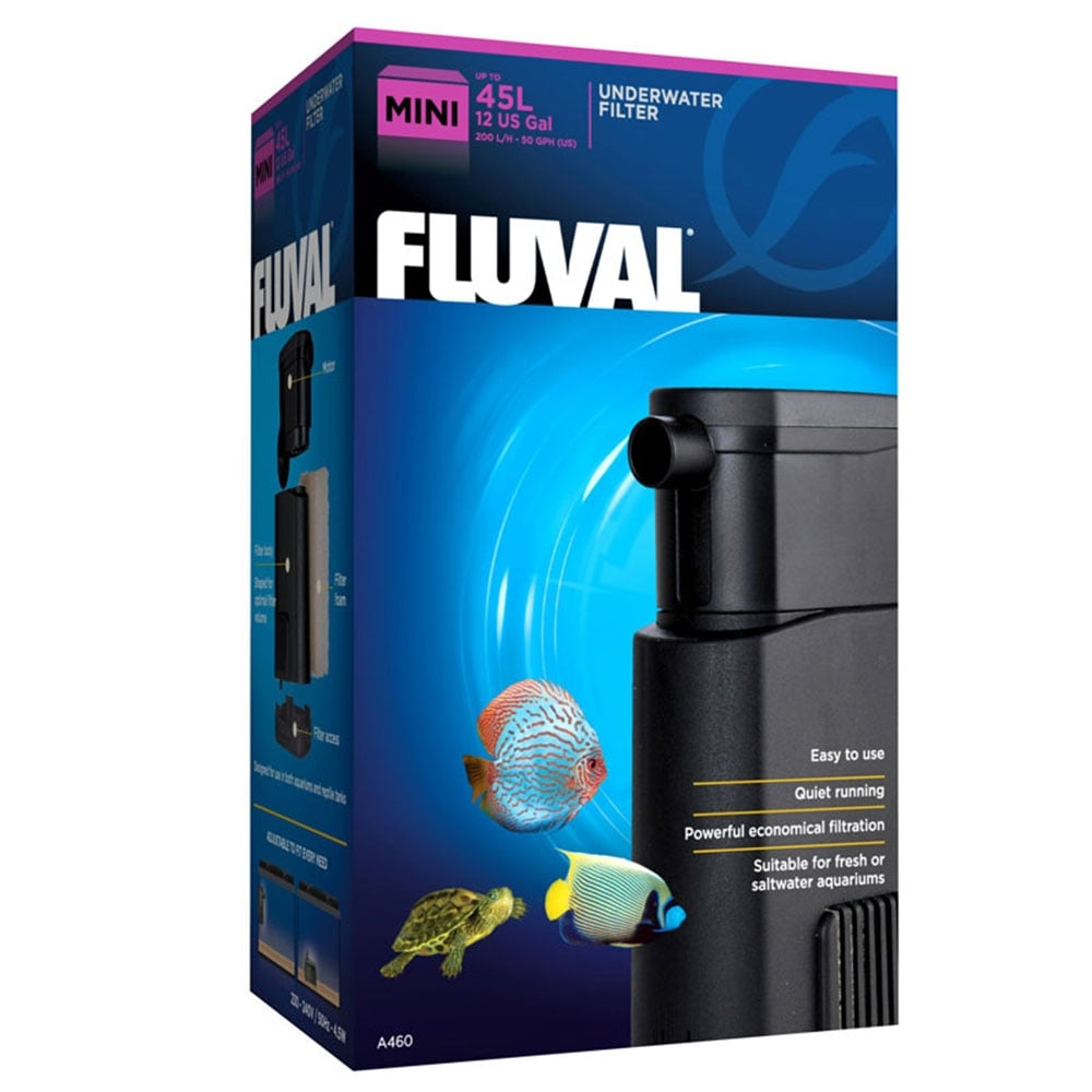 Fluval u mini underwater filter 200lph aquarium from for Underwater pond filter
