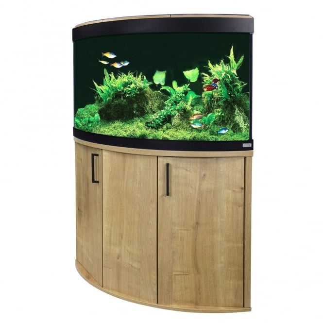 Venezia 190 LED Aquarium & Cabinet Set - Oak