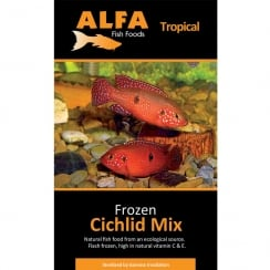 Frozen Cichlid Mix Blister Pack 100g