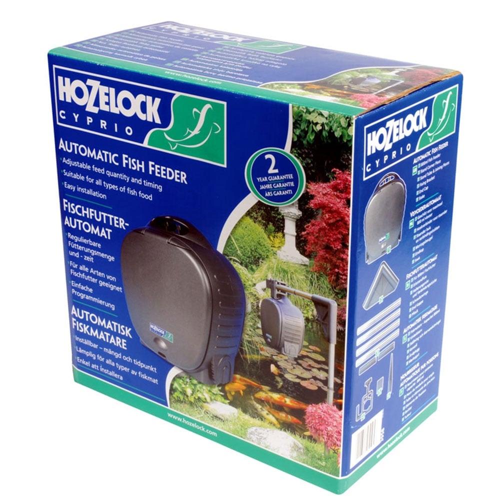 Hozelock automatic fish feeder hozelock from pond planet for Automatic fish feeders