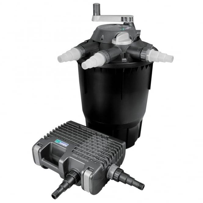 Hozelock bioforce revolution 14000 filter kit hozelock for Pond pump and filter sets