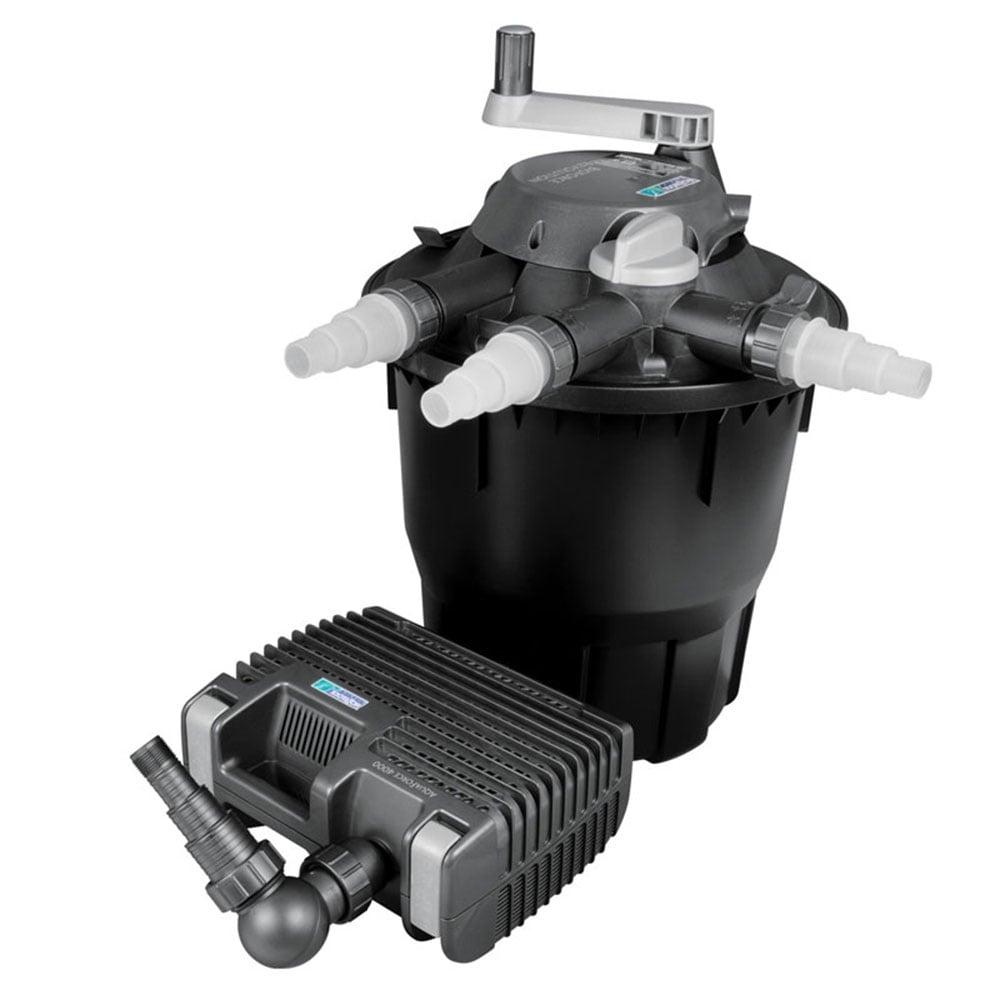 Hozelock bioforce revolution 6000 filter kit hozelock for Hozelock pond pumps