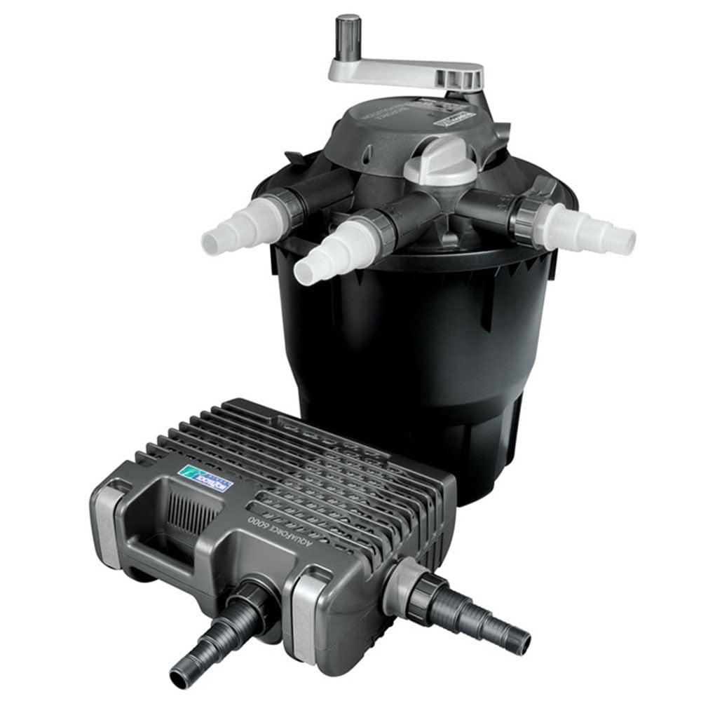 Hozelock bioforce revolution 9000 filter kit hozelock for Pond filter kits with pump