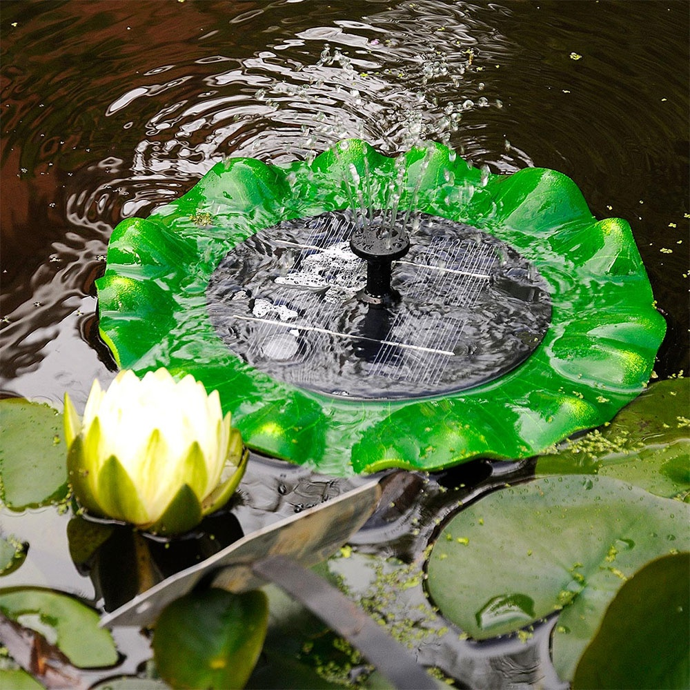 Hozelock solar floating lily hozelock from pond planet for Solar pond filter