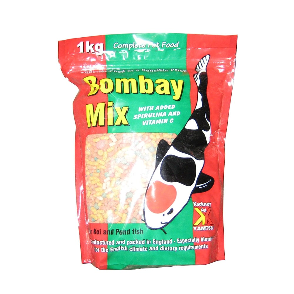 Kockney koi kockney koi bombay mix fish food pond from for Koi fish food for sale