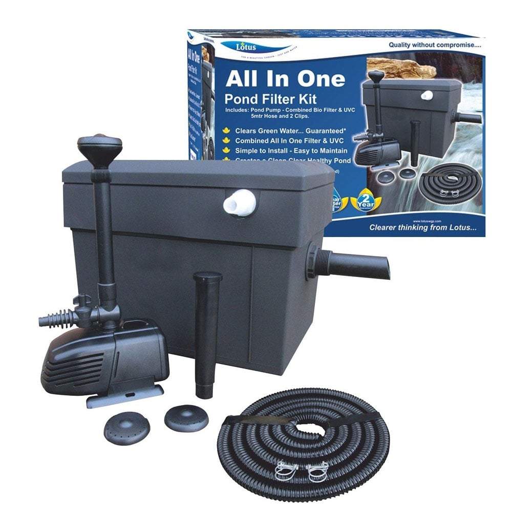 Lotus All In One Filter Kit 8000 Pond From Pond Planet