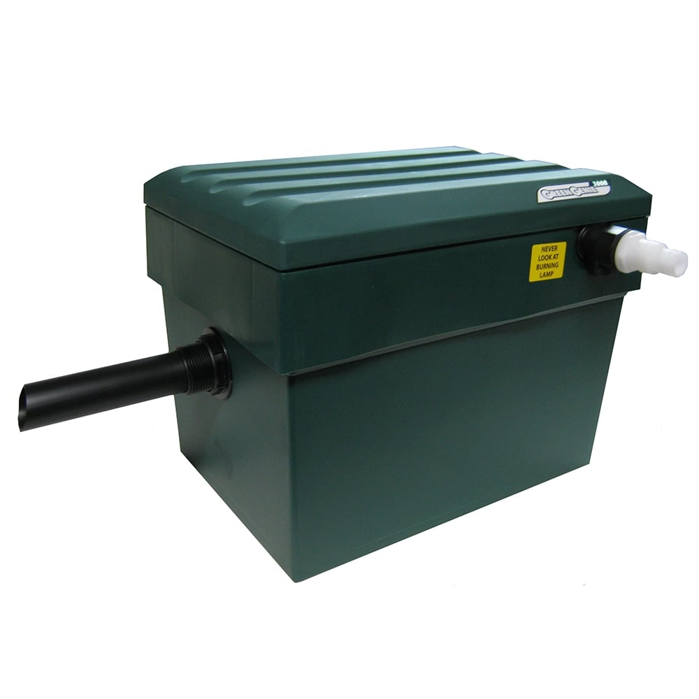 Lotus green genie 3000 pond filter lotus from pond for Pond pump filter