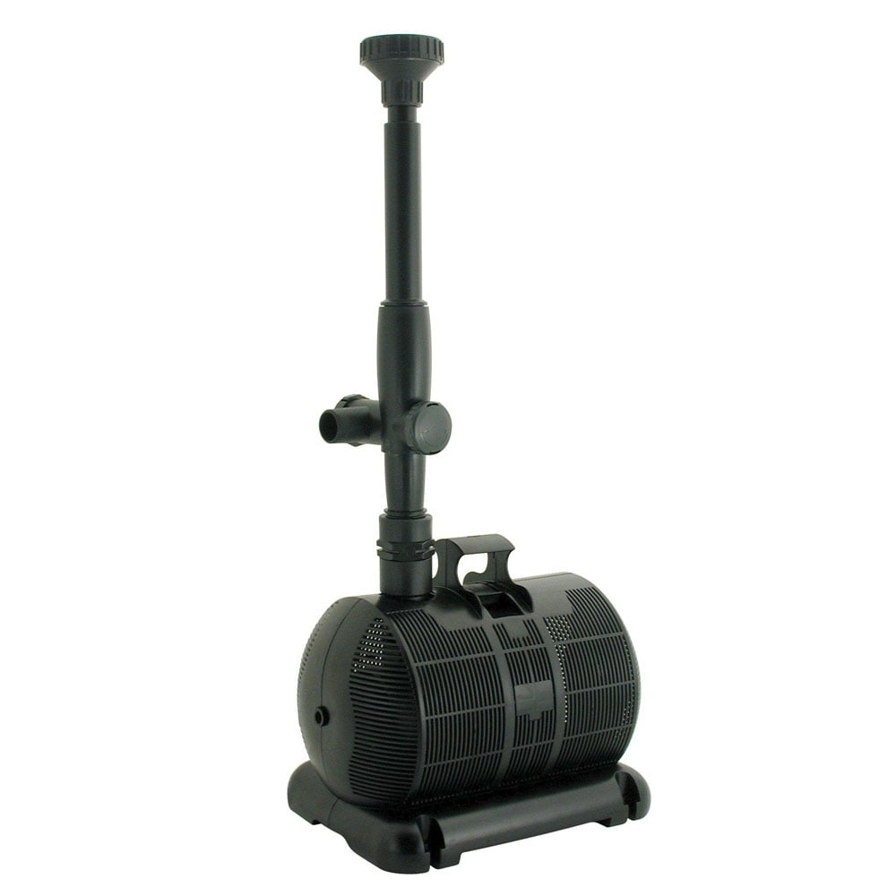 Lotus maximus evo 2500 pond pump lotus from pond planet for Pond pump equipment