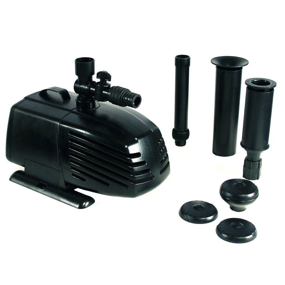 Lotus otter legend 6000 pond pump lotus from pond planet for Pond equipment