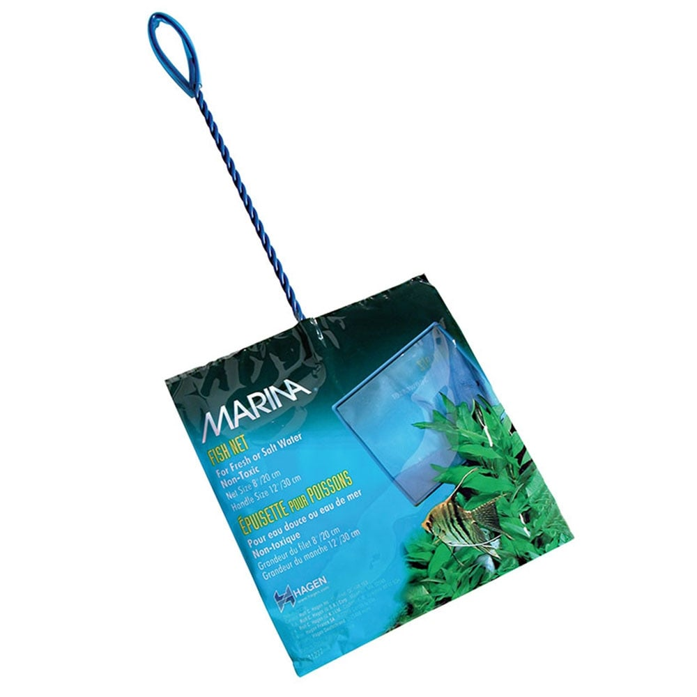 Marina nylon fish nets aquarium from pond planet ltd uk for Fish cleaning gloves