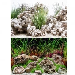 Planted Hideaway / Texas Cloud Aquarium Background