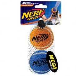 Mega Strength 2.5inch Tennis Balls (2pk)