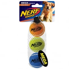 Mega Strength 2inch Tennis Balls (3pk)