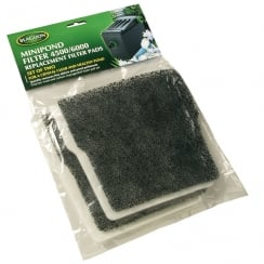 MiniPond Carbon and Wool Pads