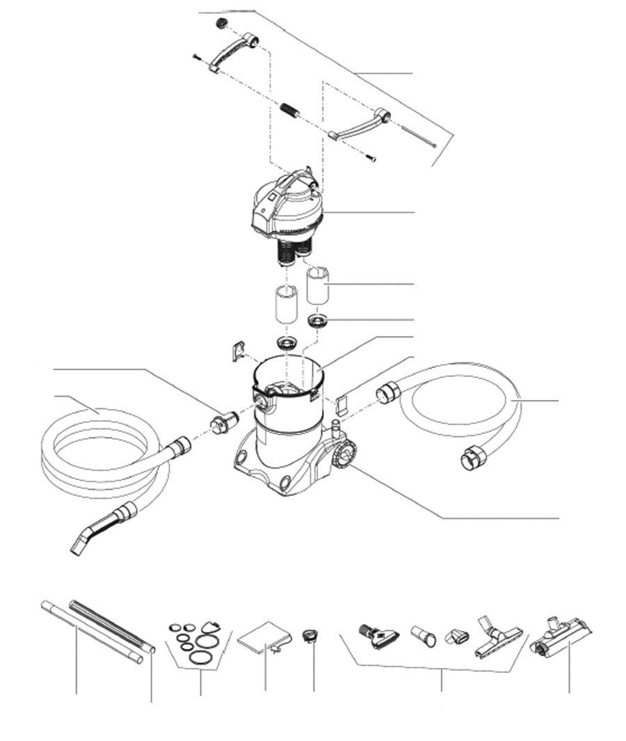 Oase PondoVac 4 Spare Parts