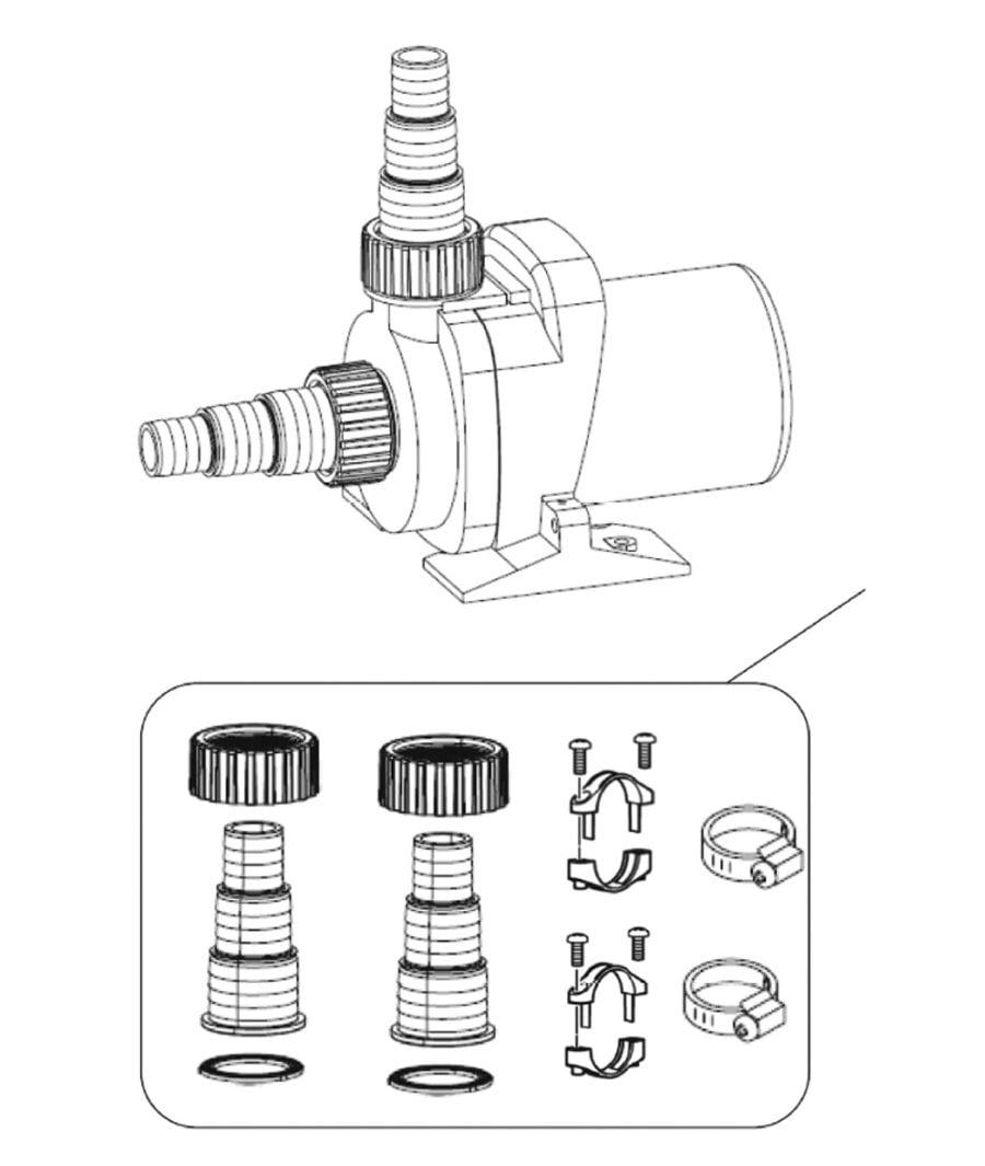 Oase AquaMax Dry Spare Parts
