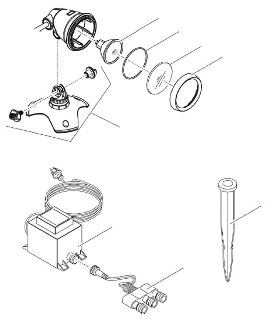 Oase LunAqua 3 LED Spare Parts