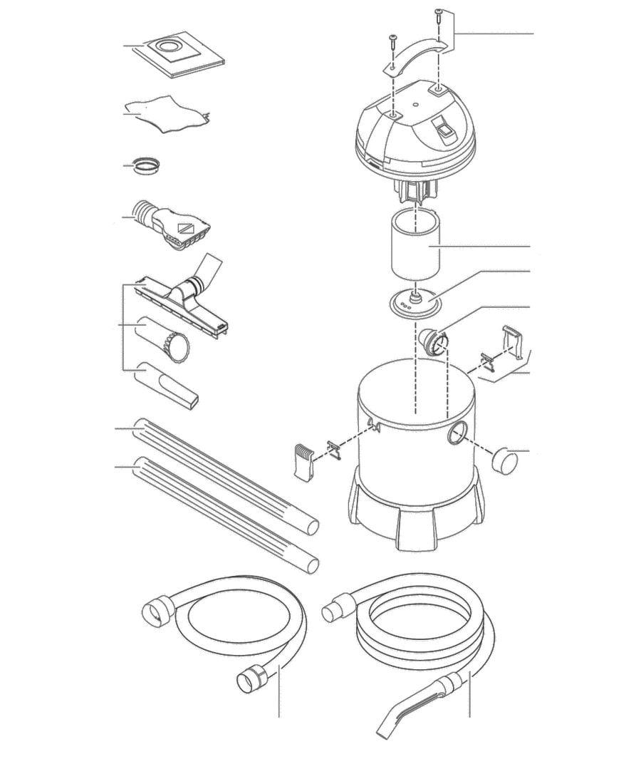 Oase PondoVac Classic Spare Parts