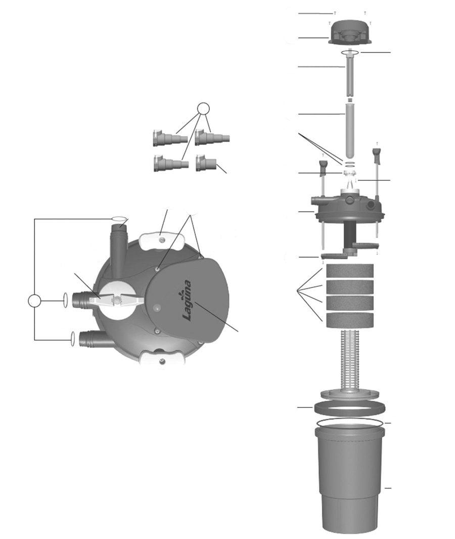 Laguna Pressure Flo 6000 Spare Parts