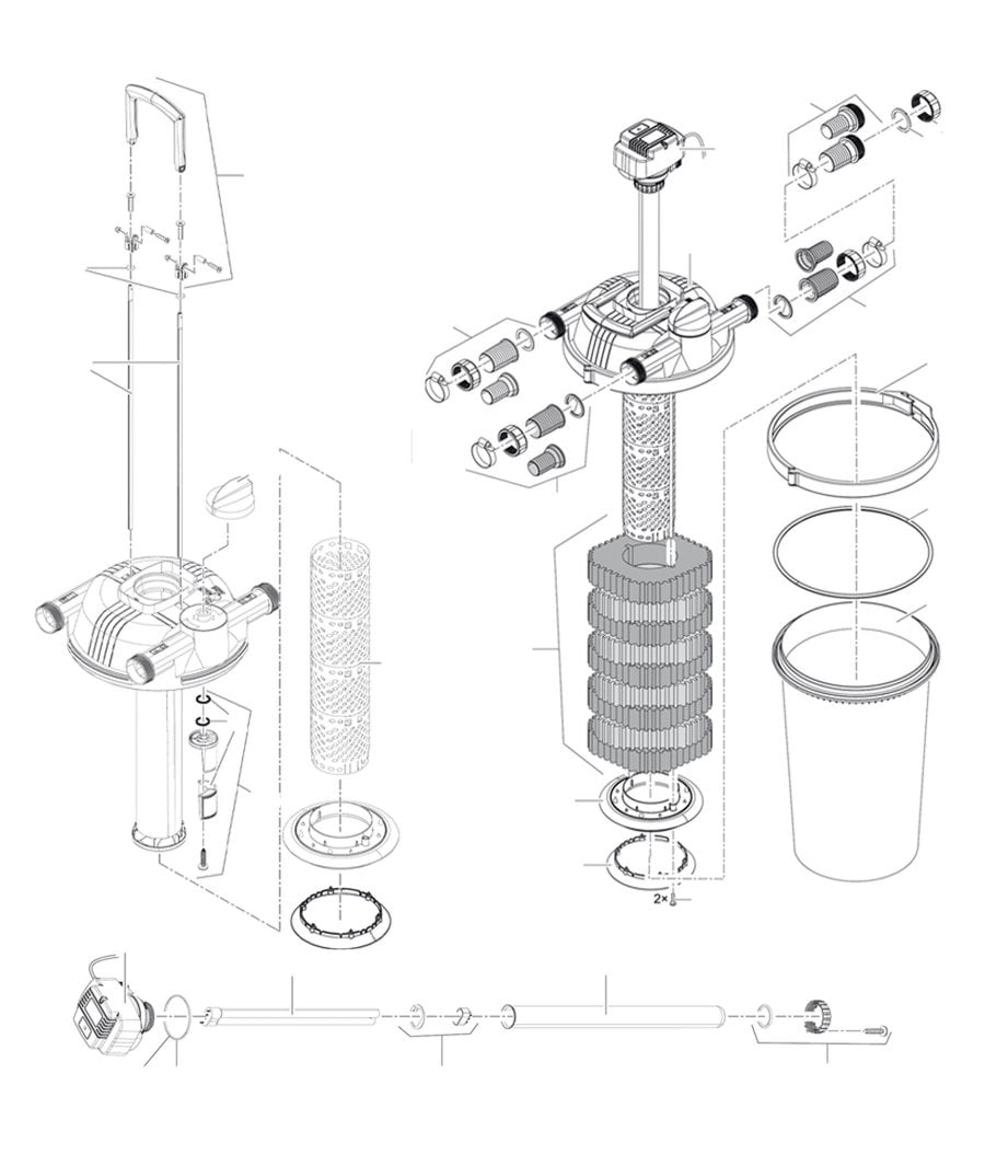 Oase FiltoClear 16000 Spare Parts