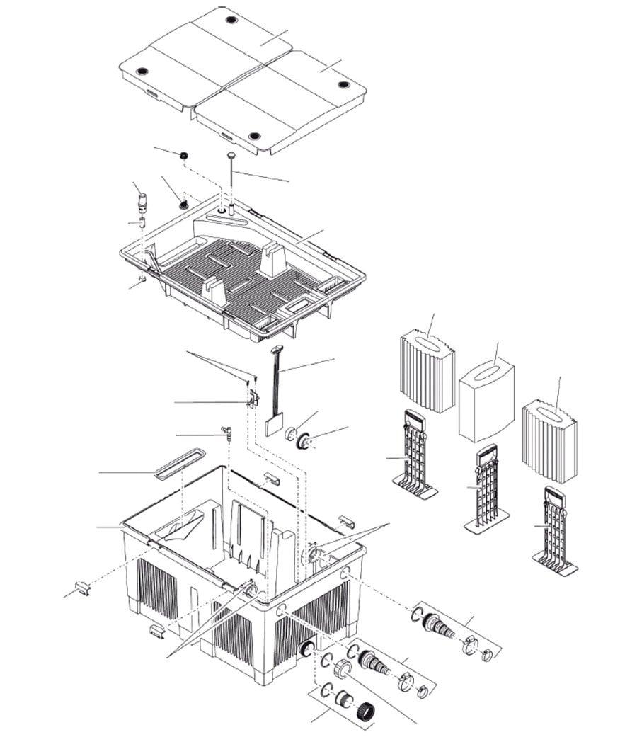 Oase BioSmart 36000 Spare Parts