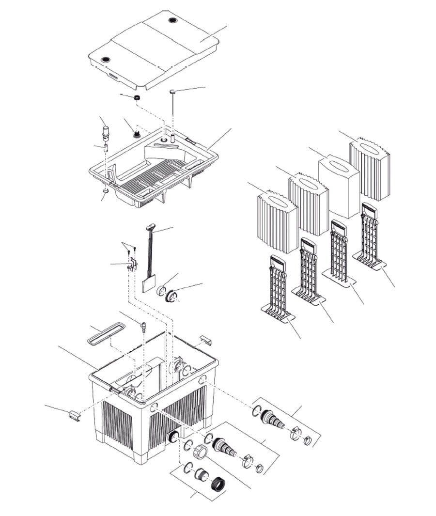 Oase BioSmart 18000 Spare Parts