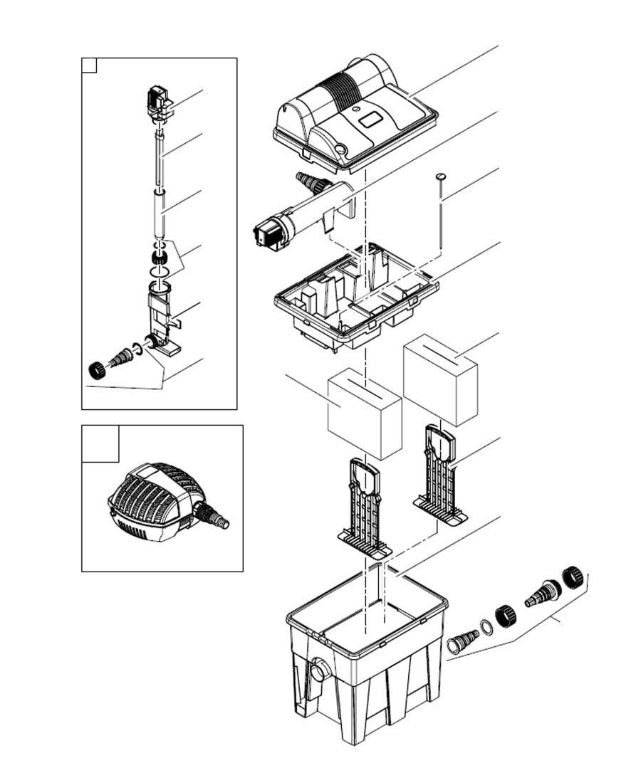 Oase BioSmart 7000 Spare Parts