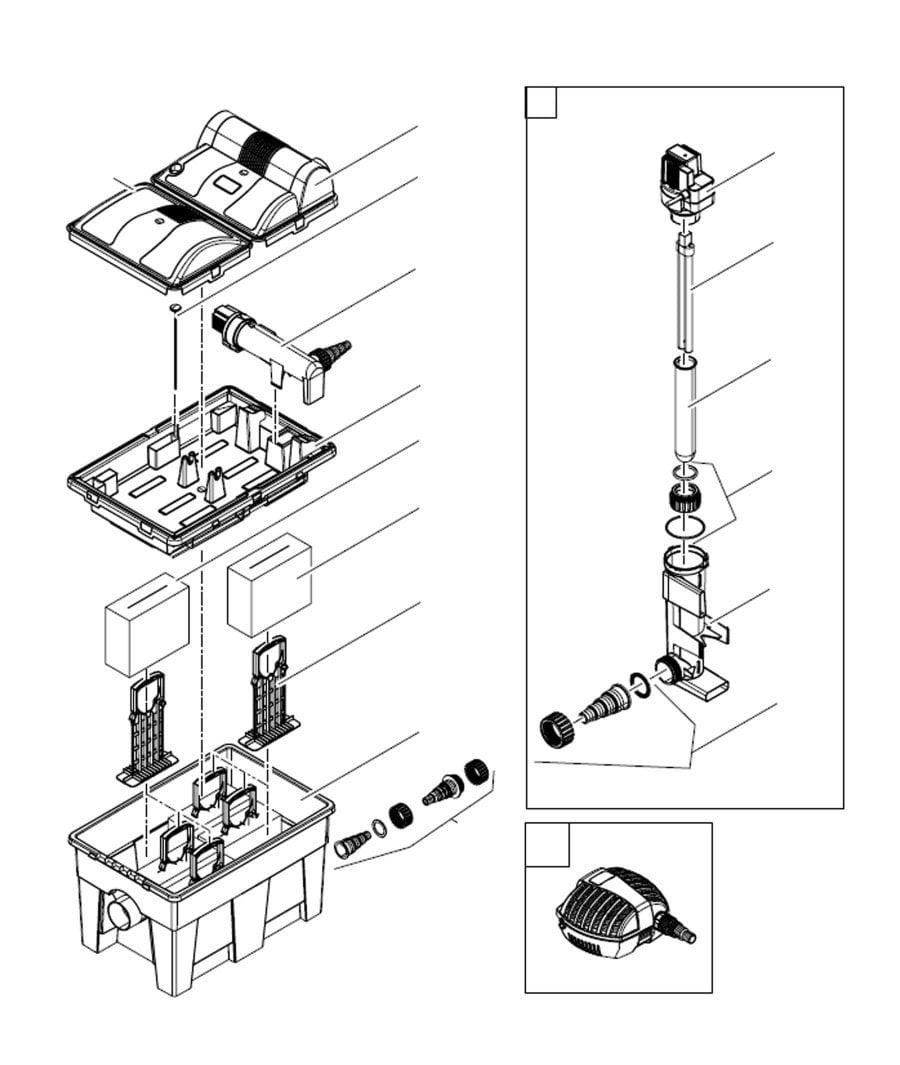 Oase BioSmart 14000/16000 Spare Parts
