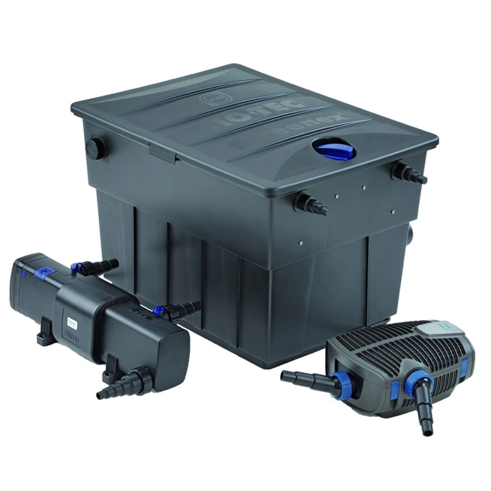 Oase biotec screenmatic set 54000 pond from pond planet for Best all in one pond pump and filter