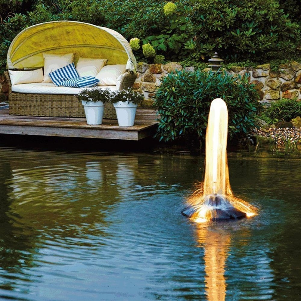 Oase pond jet eco floating fountain oase from pond for Koi pond jets