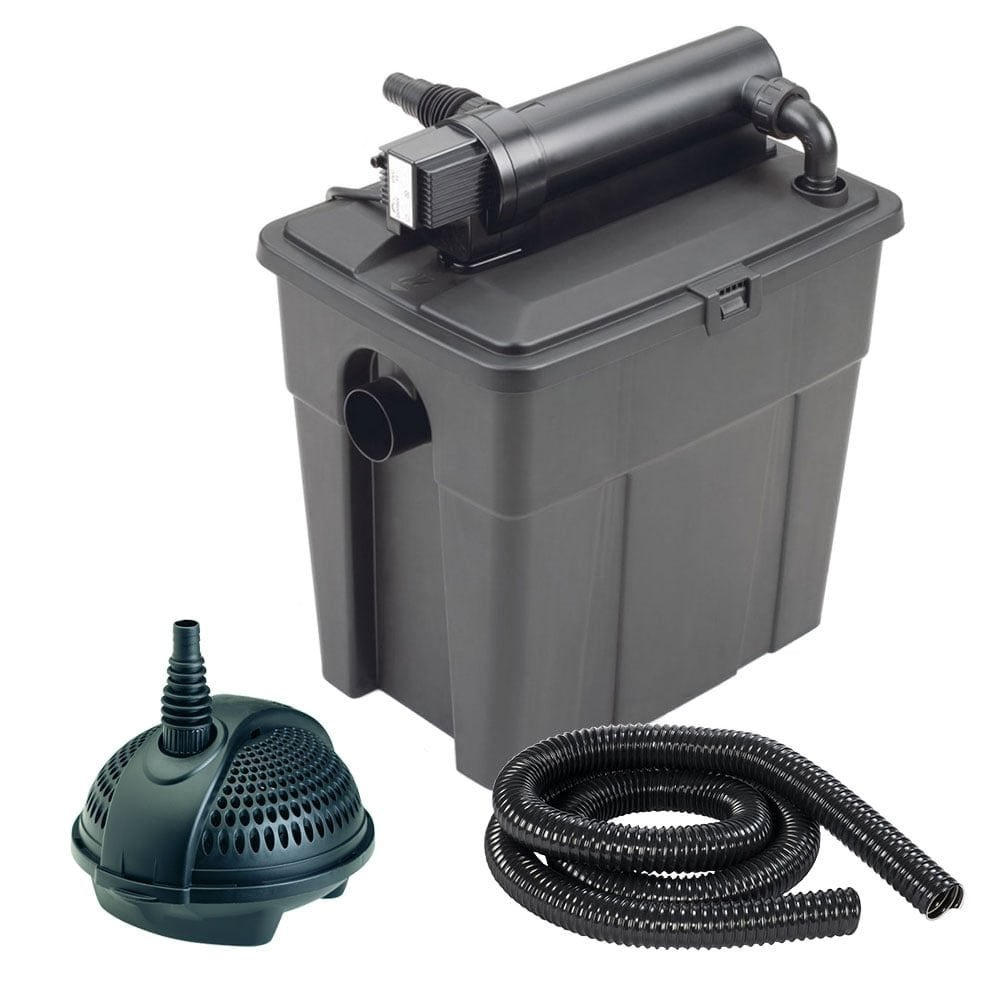 Pontec multiclear set 8000 pontec from pond planet ltd uk for Pond pump equipment