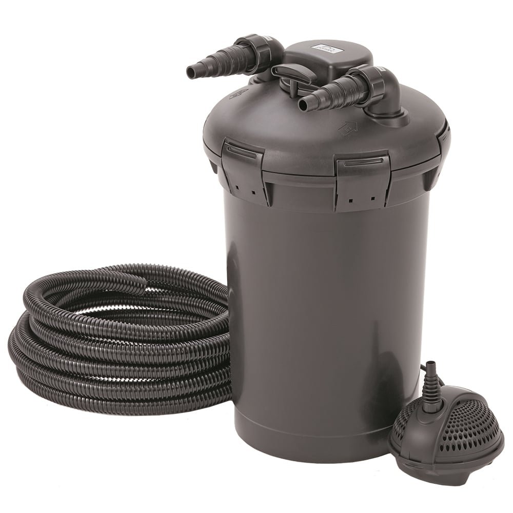 Pontec pondopress 15000 pond filter set pond from pond for Pond pump filter