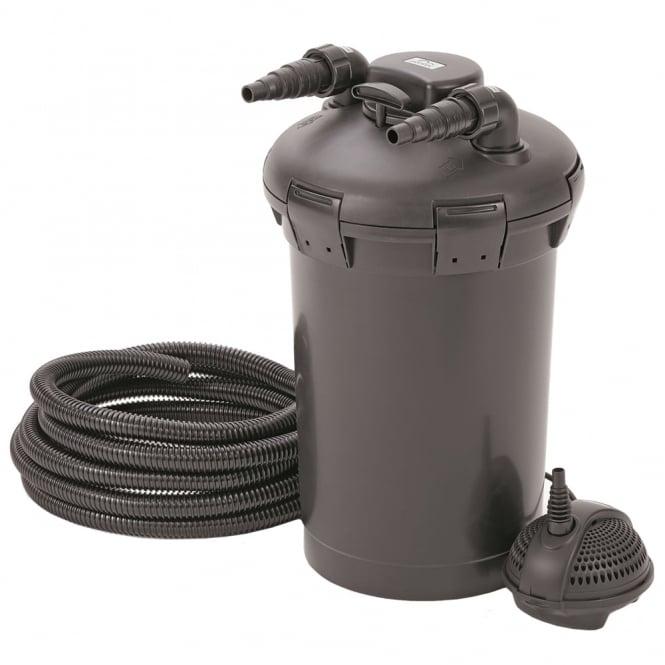 Pontec pondopress 15000 pond filter set pontec from pond for Pond pump and filter sets